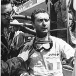 Nino Vaccarella  torna al volante dell'Alfa 33/3 venerdi 9 maggio sulle strade di Termini Imerese